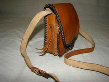 Natural Leather Hand Stitched Women's Bag/Purse/Messenger Bag