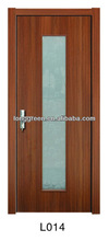 L014 WPC interior glass french doors
