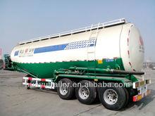low price 3 axle bulk cement semi trailer
