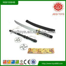 Kids playing sword toy ninja weapons, ninja weapon toys