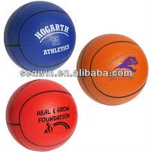 mini PU squeeze toy basketball