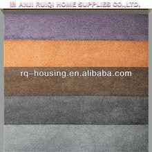 Peach skin fabric organic cotton flannel fabric heavy corduroy fabric red yellow RQ-R-42
