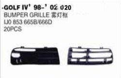 VW PARTS GOLF GOLF 4 98-02- BUMPER GRILLE