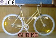 700C lady girl women fixed gear bike