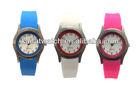 2013 latest desgin vogue cheap wholesale colorful silicone wristband watch