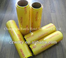 PVC plastic cling film food wrap,pvc cling film for food