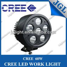2013 NEW Arrival 9-32V 7inch 6PCS*10W worklight 60W LED driving light led work light off road High Brightness 4WD LED Fog Light
