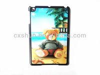 2013 latest 3D design plastic cases for ipad mini