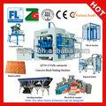2014 caliente de la venta! Qt10-15 completamente- hormigón automática de enclavamiento pavimentación bloque de la máquina