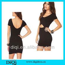 high fashion roman fabric bodycon ladies dress in 2013 summer