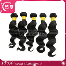 Factory price 100 full cuticle loose wavy indian hair from India for wholesale