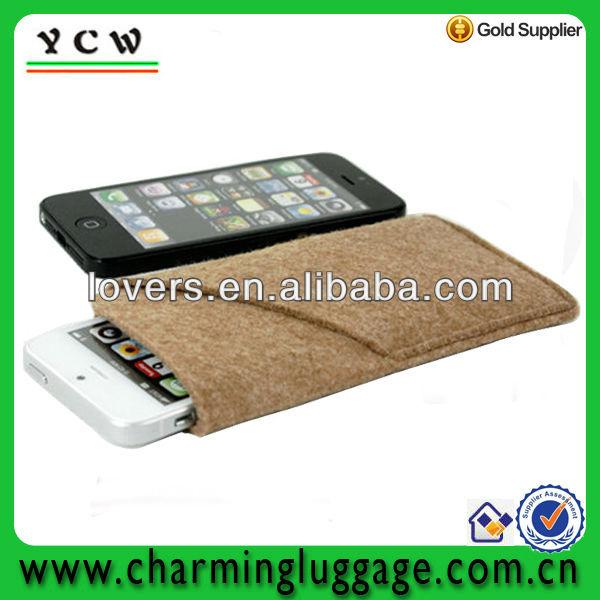 felt phone bag for iphone