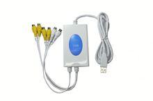 Software Compression 4 Channels USB DVR Card, usb dvr surveillance system 4 channel