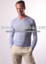 Nepal alta qualidade V Neck 100% dos homens suéter de Cashmere