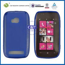 C&T Dark blue tpu phone case for nokia lumia 710