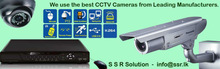 CCTV Cameras and DVR Systems