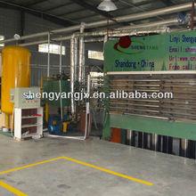 Hot! 400t full automatic vacuum veneer multi-layers door skin short cycle lamination hot press/wood door press machine