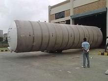 Underground FRP Diesel Storage Tanks