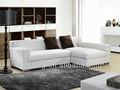 Lk-s17 canto sofá chesterfield de couro cama