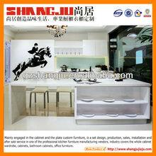 Prefabricated kitchen island of kitchen furniture