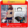 Italian fancy luggage 20 inch embossed luggage for sale