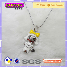 Lovely Baby Girl Doll Necklace#31390
