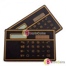Mini Slim Solar Power Pocket Calculator