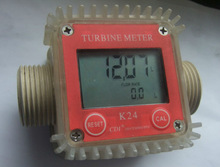 K24 Digital Plastic Turbine Flow Chemical Meter