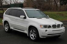 2003 BMW X5 4.4i , ONLY 82k MILES Loaded, White, BODY KIT