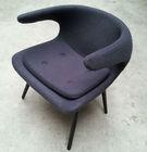 2013 new swivel fiberglass tulip dining chair /fabric rocking chair