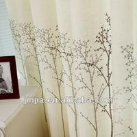 MT 4591 study room curtain linen curtain print curtain drapery