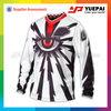 Fashion design sublimate printing men's motocross gear