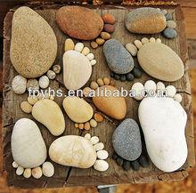natural pebble rocks