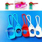novelty products promotional silicone hand sanitizer holder