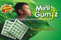 Green mint chewing gum (8 pcs Blister strips)