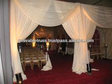 wedding supplies.event pipe and drape
