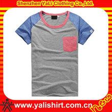 Innovative customer 100% cotton men s basic tee shirt