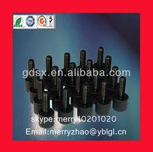 aluminum black anodizing knurled thumb screw main product