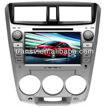 Factory price for HONDA CITY 1.5L Android 4.0 car navigation system Car DVD player