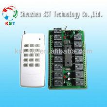 Universal home appliance digital light switch wireless remote control switch