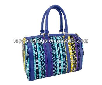 Latest Design Leather African women's Fashion Handbag 2014