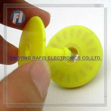 rabbit 134.2KHz RFID Animal ear tag for livestock tag