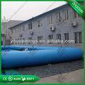 Atraente inflável rodada piscinas de plástico para parque de diversões