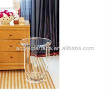 Peekaboo Acrylic Side Table/Peekaboo Acrylic Clear Pedestal