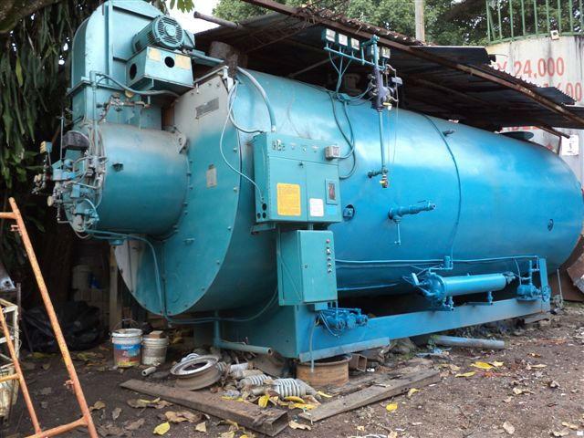 700 BHP de la caldera