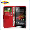 Xperia SP M35h flip wallet leather case, wallet leather case cover for Sony Xperia SP M35h,Leather wallet case cover