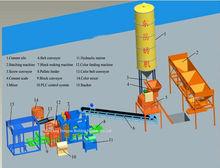 QT6-15B concrete hollow block making machine for Congo