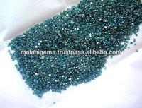 Precious Gems Natural Diamond Blue Round Cut Loose Stones