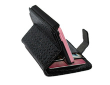 Wallet Style Croco Pattrent PU Leather Case For iPhone 5C Classic With Stand + 2 Card Holders