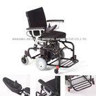 Folding light weight aluninium toilet commode chair wheelchair